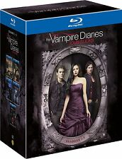 VAMPIRE DIARIES (Love Sucks) Stagioni 1-5 BOX 25 BLURAY in Inglese NEW .cp