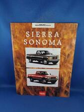 1993 GMC TRUCK SALES BROCHURE SIERRA SONOMA CLUB COUPE 4X4 TRAILERING OPTIONS