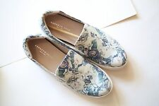 Kenneth Cole King Eh Floral Leather Shoe Loafer Women's size 7.5 Med NEW in box