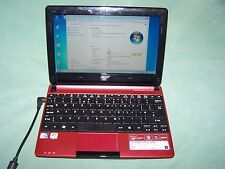 "Acer Aspire One D255 Intel Atom N450 1.66 ghz 2gb 250gb 10.1 "" Netbook Win 7"