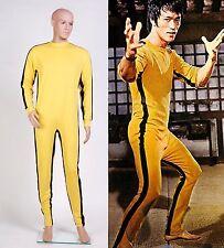 Bruce Lee The Game of Death Jumpsuit Tuta Vestito Kongfu cosplay *Su Misura*