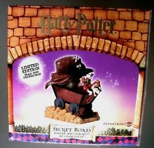 HARRY POTTER SECRET BOXES---HARRY AND HAGRID AT GRINGOTTS--BY DEPARTMENT56.COM