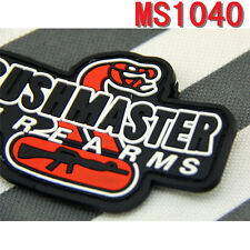Hot Sale Militaria PVC Patches Biker Outdoor Bushmaster Firearms Paste