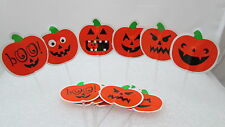 Wilton 12 Fun Pix for cupcakes - Halloween Pumpkin Jack O lanterns