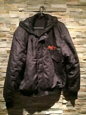 Men's Superdry Bomber Style Jacket. Black/grey With Tartan Effect