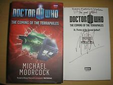 MICHAEL MOORCOCK - DOCTOR WHO  1st/1st  HB/DJ  2010   SIGNED