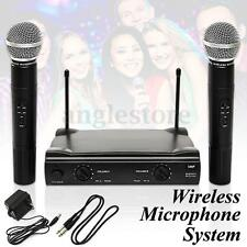 Dual WIRELESS CORDLESS MICROPHONE SYSTEM WITH WIRELESS UT4 TYPE MIC For shure