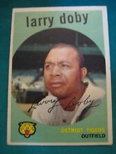 1959 Topps #455-Larry Doby-Detroit Tigers-Hall of Famer