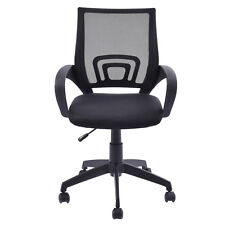 Ergonomic Mid-back Mesh Computer Office Chair Desk Task Task Swivel Black New