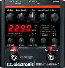 tc electronic ND-1 Nova Delay Guitar Pedal Effect NEW FREE EMS