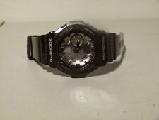 MENS CASIO GA 150MF BLACK SILVER PURPLE NEVER QUIT G SHOCK WATCH 5255 MODULE FM