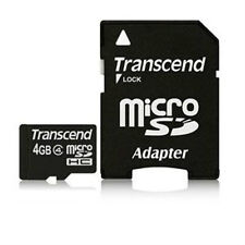 4GB Micro SD MicroSDHC Memory Card with Adapter for Blackberry Curve 9300 9330