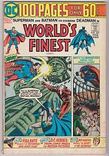 World's Finest #227 with Superman & Batman, Fine Condition.