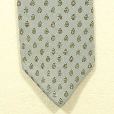 vintage GIVENCHY MONSIEUR silk tie made in the USA width 3.25""