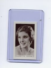 Facchinos Chocolate Wafers 1936 #62 Loretta Young MINT  Super