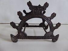 Antique Victorian / Eastlake Iron Pen / Rest / Rack / Stand / Holder / Stand
