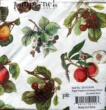 pIMPERNEL Set of 24 Cocktail Beverage Napkins - Pomona Chintz