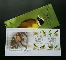 Birds Of Malaysia 2005 Definitive Series High Value Parrot (FDC) *Rare *perfect