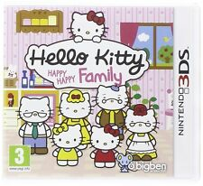 Nintendo 3DS Spiel Hello Kitty - Happy Happy Family 2DS kompatibel NEUWARE