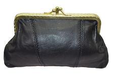 porte monnaie en cuir retro pour femme modèle clic clac  vintage