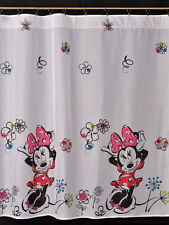 Disney  Voile Net Curtain -NEW MINNIE MOUSE  - 300 cm width x 150cm drop