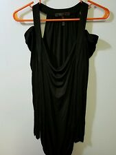 Bcbg maxazria dress black w/ long sleeve size small #