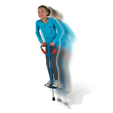 Geospace BLUE Jumparoo BOING! Med Pogo Stick Active Exercise Kids 6+ 60-100lbs