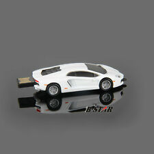 8GB White Car Pen Drive USB 2.0 Memory Stick Flash Drive USB Thumb Drive Gift