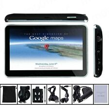 "5"" Inch 4GB Car GPS Sat Nav UK EU AU NZ Maps POI Lifetime Free Update + Sunshade"