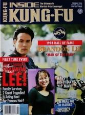 2/94 INSIDE KUNG FU YIP MAN  SHANNON & BRANDON LEE BLACK BELT KARATE MARTIAL ART