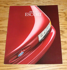 Original 1995 Ford Escort Sales Brochure 95 LX GT