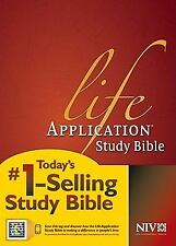Life Application Study Bible NIV by Tyndale House Publishers (2011, Hardcover)