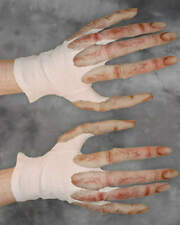 ALIEN HANDS GLOVES LATEX SPACE HALLOWEEN HORROR