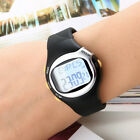 Sport Pulse Heart Rate Monitor Calories Counter Fitness Watch New LED black
