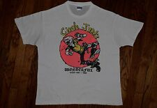 1985 the CIRCLE JERKS wönderful tour T-shirt black flag vtg punk rock 80s L/XL