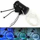 Car Bike Bicycle Cycling Wheel Spoke Tire Wire Tyre Bright LED Flash Light Lamp