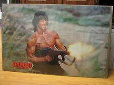 Vintage 1985 Movie poster Rambo first blood part II 364
