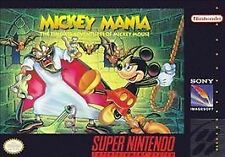 ***MICKEY MANIA SNES SUPER NINTENDO GAME COSMETIC WEAR~~~