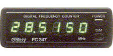 Galaxy FC347-BL FREQUENCY COUNTER W/ BLUE LED