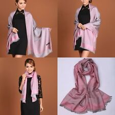 Double-Side Pashmina Women's Shawls Scarves Scarf Wrap Stole Cashmere New Floral