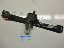 Fiat Punto 2007 O/S Drivers Side Window Regulator & Motor , Used Car Part  T7