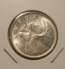1965~~CANADIAN 25 CENTS~~SILVER BEAUTY~~SCARCE~~CANADA