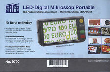 SAFE LED-Digital-Mikroskop portable 9790 NEU