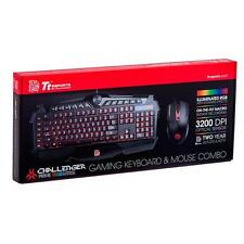 THERMALTAKE CHALLENGER PRIME RGB COMBO Gaming Keyboard Mouse KB-CPCMBBRUS01(F08)