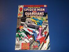 Marvel Team Up #86 Bronze Age Spider-man Guardians of the Galaxy Wow