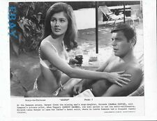 Robert Wagner barechested, Pamela Tiffin busty VINTAGE Photo Harper