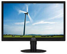 Philips 241S4LCB/00 (24 inch) LCD Monitor with LED Backlight 1920x1080 (Black)