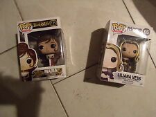 Lot 2 Disney Funko Pop Vinyl The Book of Life Maria &THE GATHERING LILIANA VESS