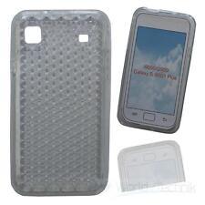Silikonhülle Siliconcase für Samsung Galaxy S GT-i9000 / S Plus GT-i9001 - trasp