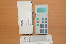 Siemens 6SE7090-0XX84-2FK0 OP1S1 Operation panel  6SE7 090-0XX84-2FK0
